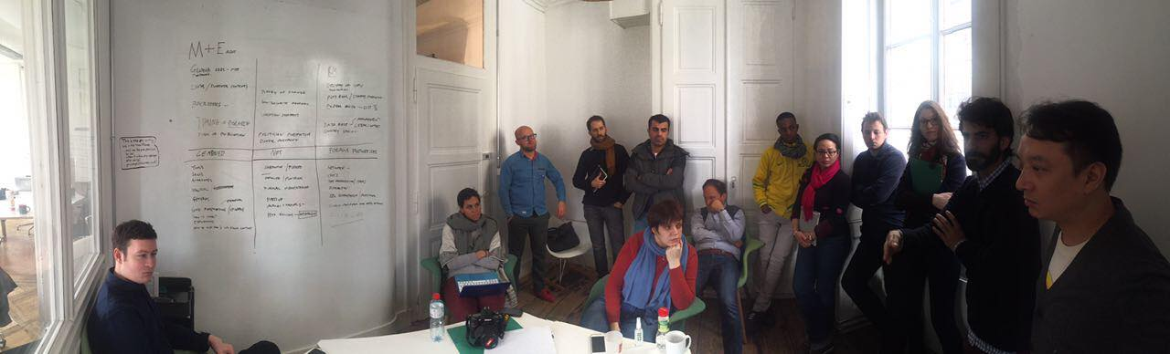 Feedback session on the last day